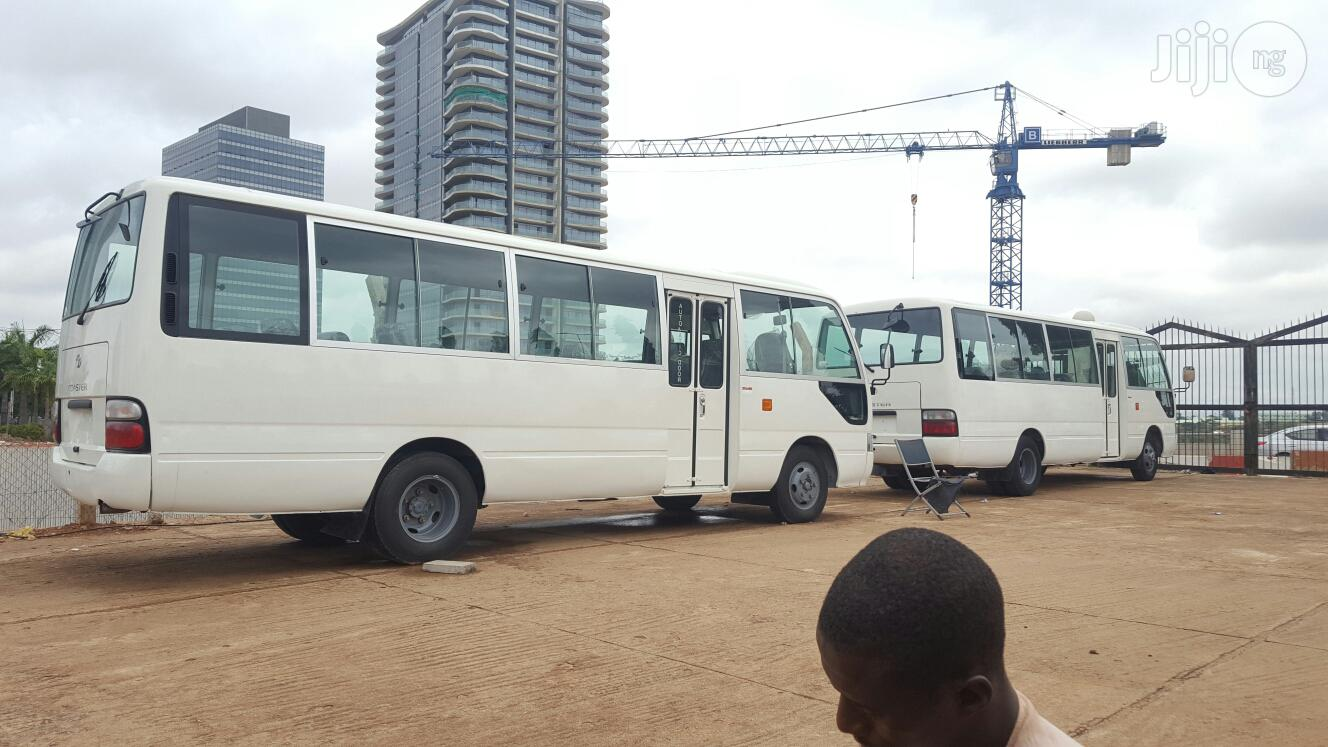 New Toyota Coaster 2013 White | Buses & Microbuses for sale in Wuse 2, Abuja (FCT) State, Nigeria