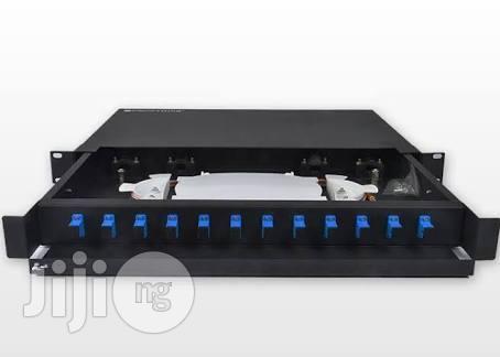 12-PORT Rack Mountable Fibre Optic Panel SC | Computer Accessories  for sale in Ikeja, Lagos State, Nigeria