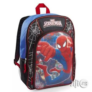 """Marvel Marvel Spiderman School Bag Kids 16"""" Full Size Backpack 