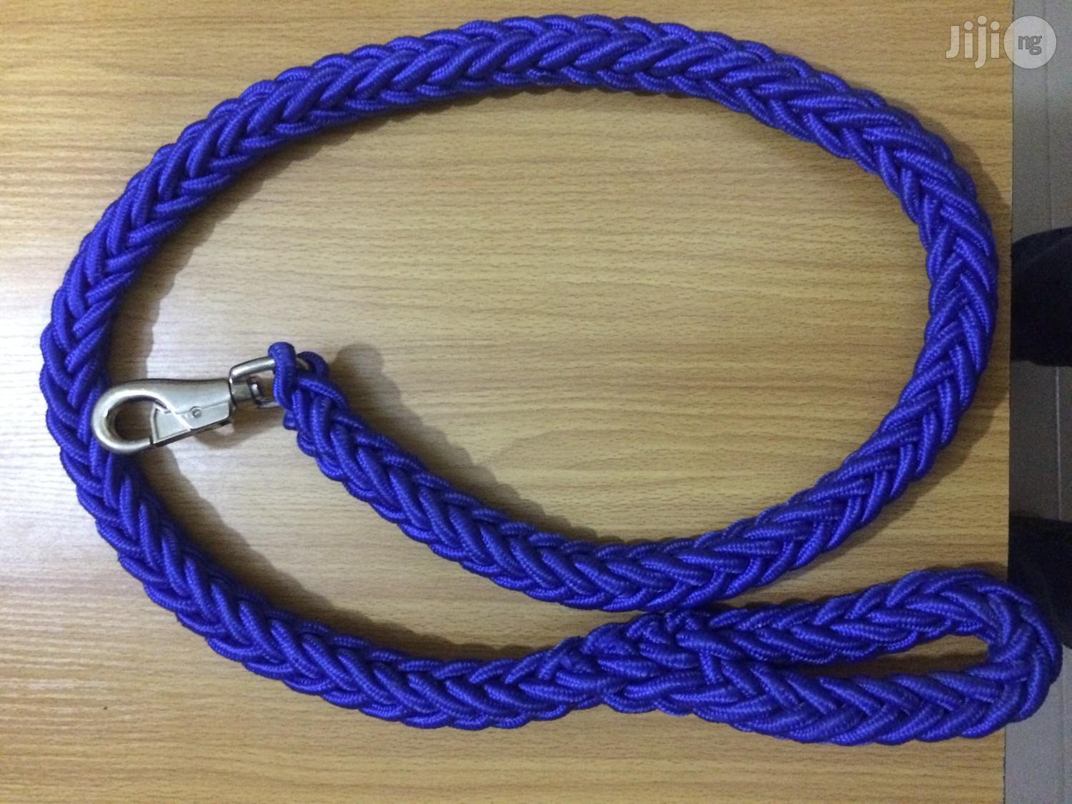 Dog Woven And Reflective Leach