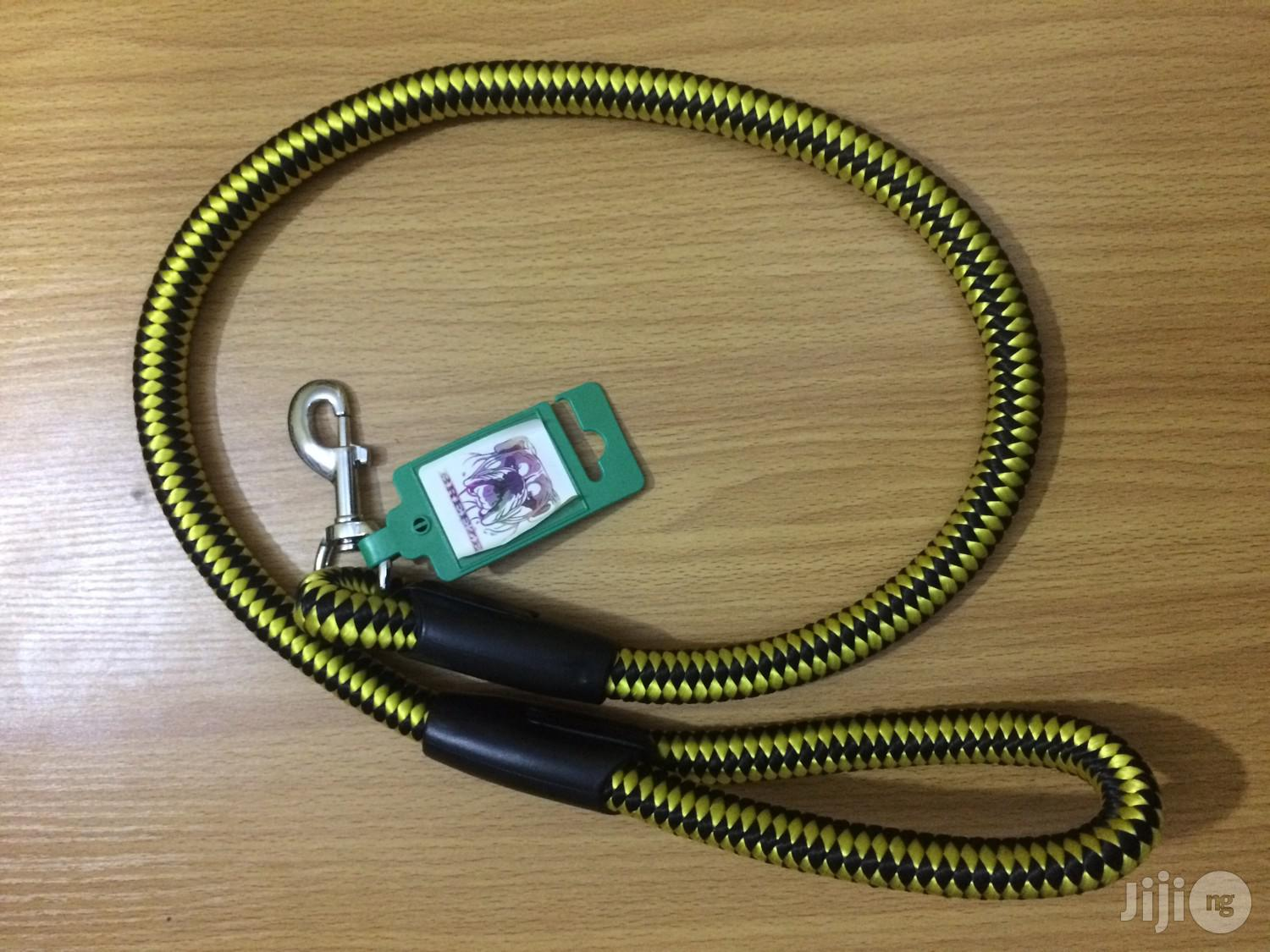 Dog Woven And Reflective Leach | Pet's Accessories for sale in Agege, Lagos State, Nigeria