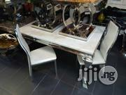 Marble Dining Table Seaters With Chairs | Furniture for sale in Lagos State, Lekki Phase 1