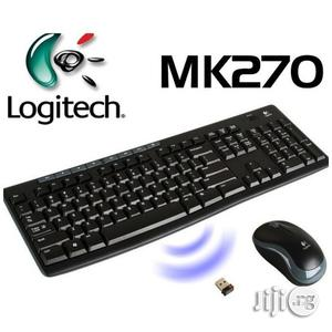 Logitech MK270 Wireless Keyboard And Mouse Combo | Computer Accessories  for sale in Lagos State, Ikeja