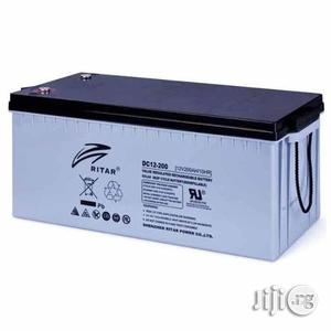 12v 200ah Ritar Battery | Electrical Equipment for sale in Lagos State, Amuwo-Odofin