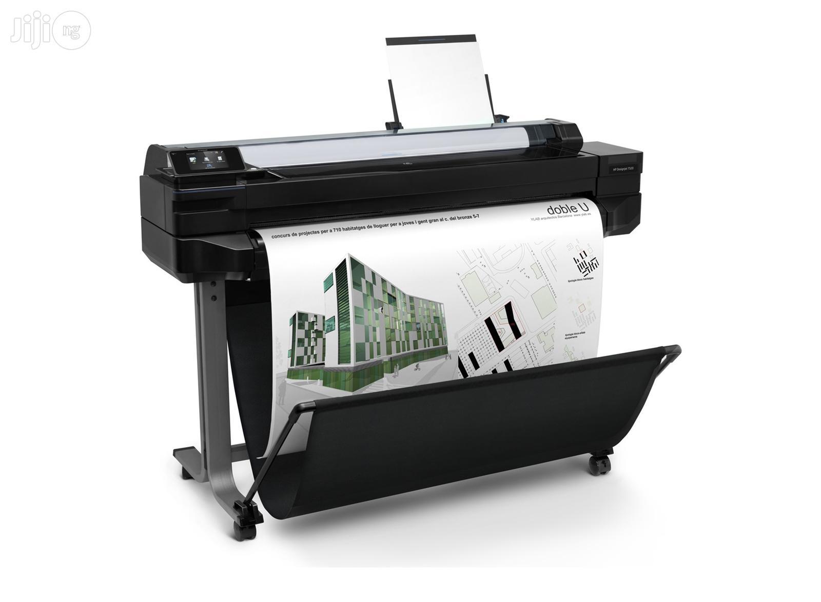 Archive: HP Designjet T525 24-in Printer Plotter(Print Upto A1)