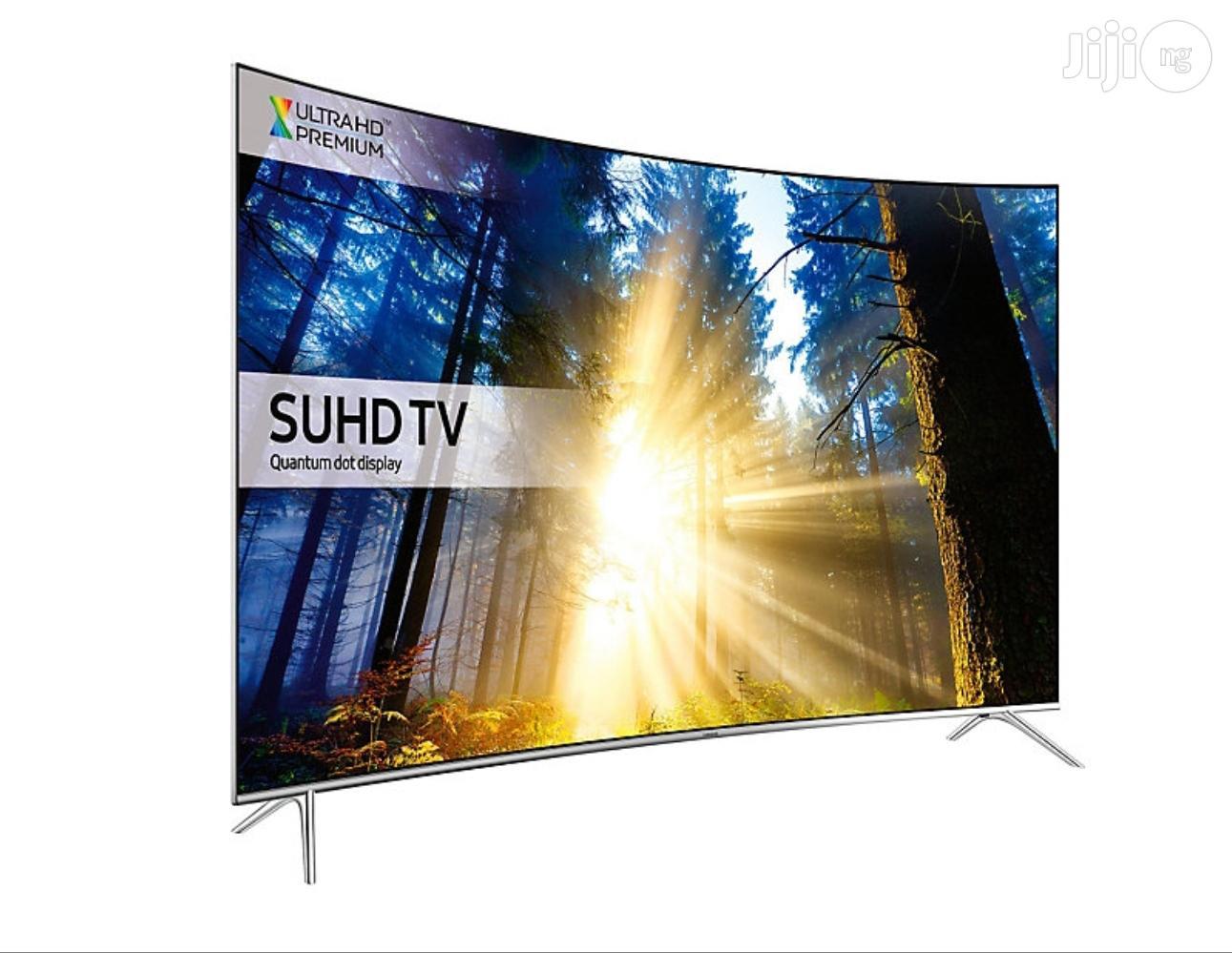 "65"" Ultra Slim Samsung CURVED Quantum Dot SUHD 4K Smart TV | TV & DVD Equipment for sale in Ojo, Lagos State, Nigeria"