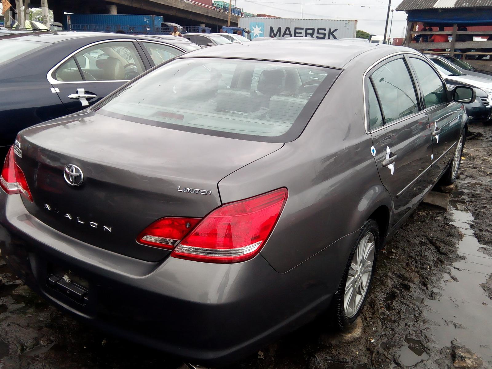 Toyota Avalon 2008 Gray | Cars for sale in Apapa, Lagos State, Nigeria