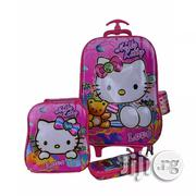 Hello Kitty Kids' Trolley Bag, Lunch Box Pencil Case 6-12years | Babies & Kids Accessories for sale in Lagos State, Amuwo-Odofin