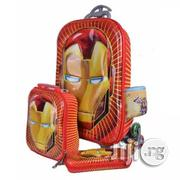 Iron Man 16 Inch Children School Bags Wheels 3 in 1 6-12years | Babies & Kids Accessories for sale in Lagos State, Amuwo-Odofin