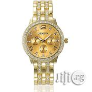 Geneva Classy Bracelet Wrist Watch- Gold | Watches for sale in Lagos State, Agege