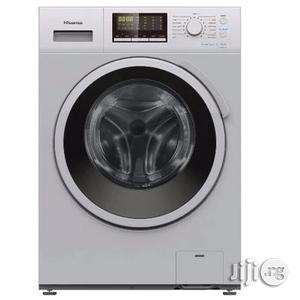 Hisense 7kg Automatic Front Loader Washing Machine WM7010 | Home Appliances for sale in Lagos State, Ojo