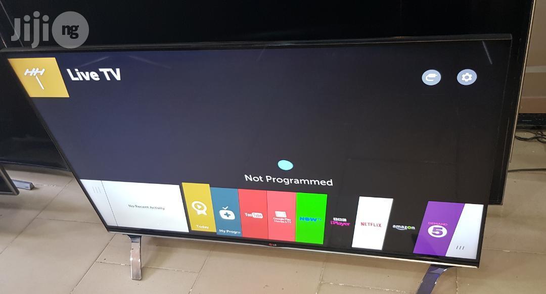 LG Smart Webo's 3D Borderless 3D Full HD LED TV 55 Inches   TV & DVD Equipment for sale in Ojo, Lagos State, Nigeria