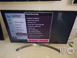LG 47 Inches Smart Full HD 3D Borderless Led Tv | TV & DVD Equipment for sale in Lagos State, Ojo