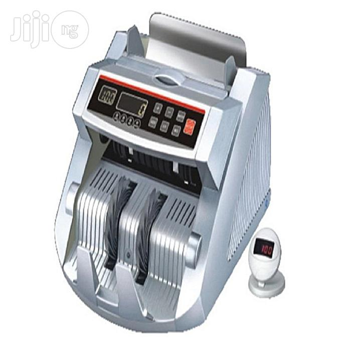 Bill Counter Bill Counting Machine With Fake Note Detector | Store Equipment for sale in Ikeja, Lagos State, Nigeria