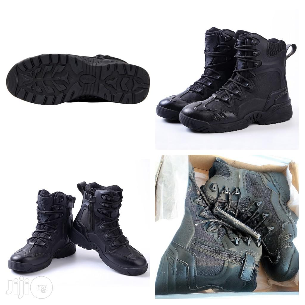 Quality Tactical Military Marine Assault Boots