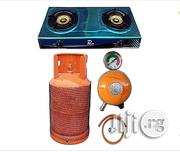 Gas Cooker With 12.5kg Empty Gas Cylinder Regulator 5 Yard Hose 4 Clip | Kitchen Appliances for sale in Lagos State, Lagos Island