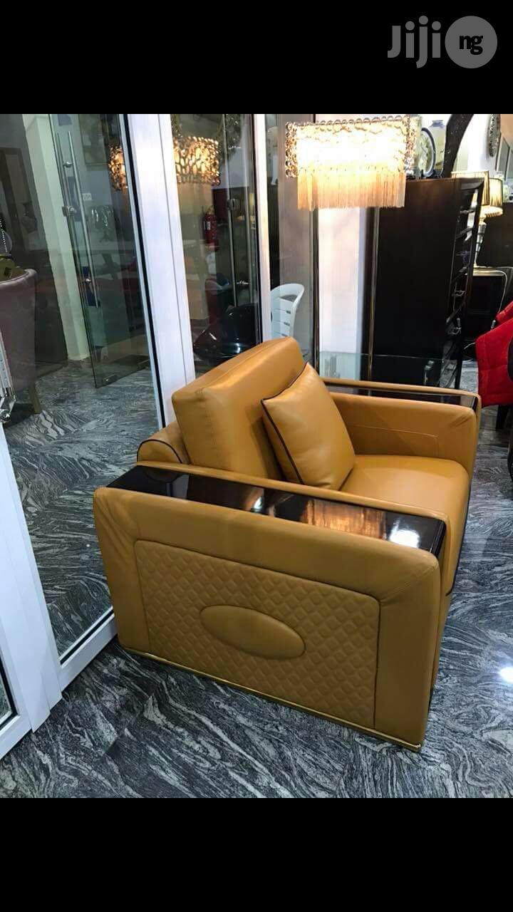 Italian Pure Leather Sofa