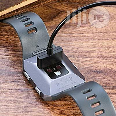 USA CAVN 1-pack Compatible Fitbit Ionic Charger Cable (3 Feet) | Smart Watches & Trackers for sale in Alimosho, Lagos State, Nigeria