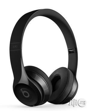 Original Beats By Dre Solo3 Wireless Headphone (Black)   Headphones for sale in Lagos State, Ikeja