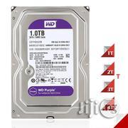 Western Digital WD Purple 1TB Surveillance Hard Disk   Computer Hardware for sale in Lagos State, Ikeja