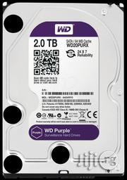 Western Digital WD Purple 2TB Surveillance Hard Disk Drive   Computer Hardware for sale in Lagos State, Ikeja