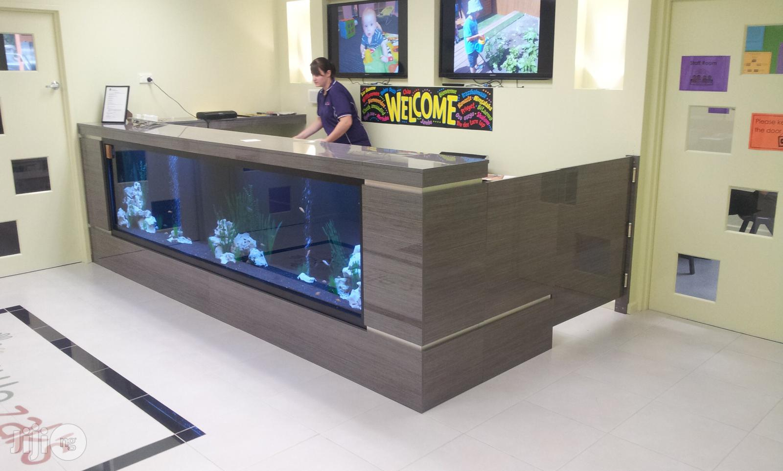 Hotel Counter Aquarium