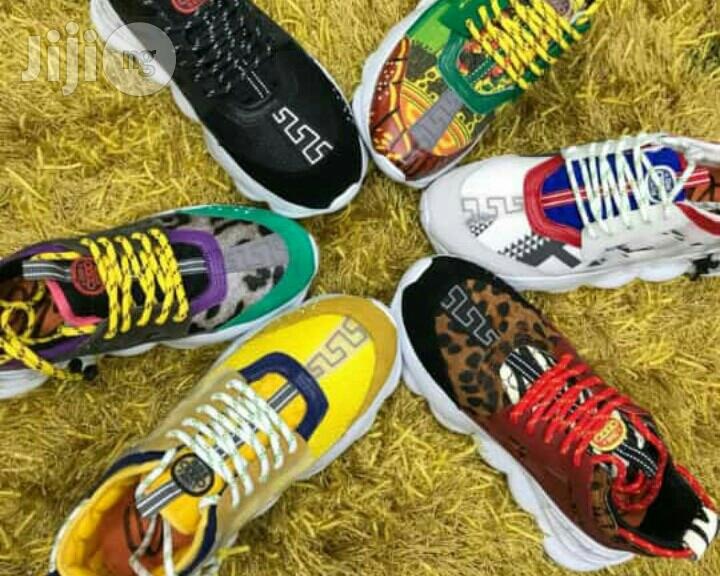 Versace Chain Reaction Sneakers in