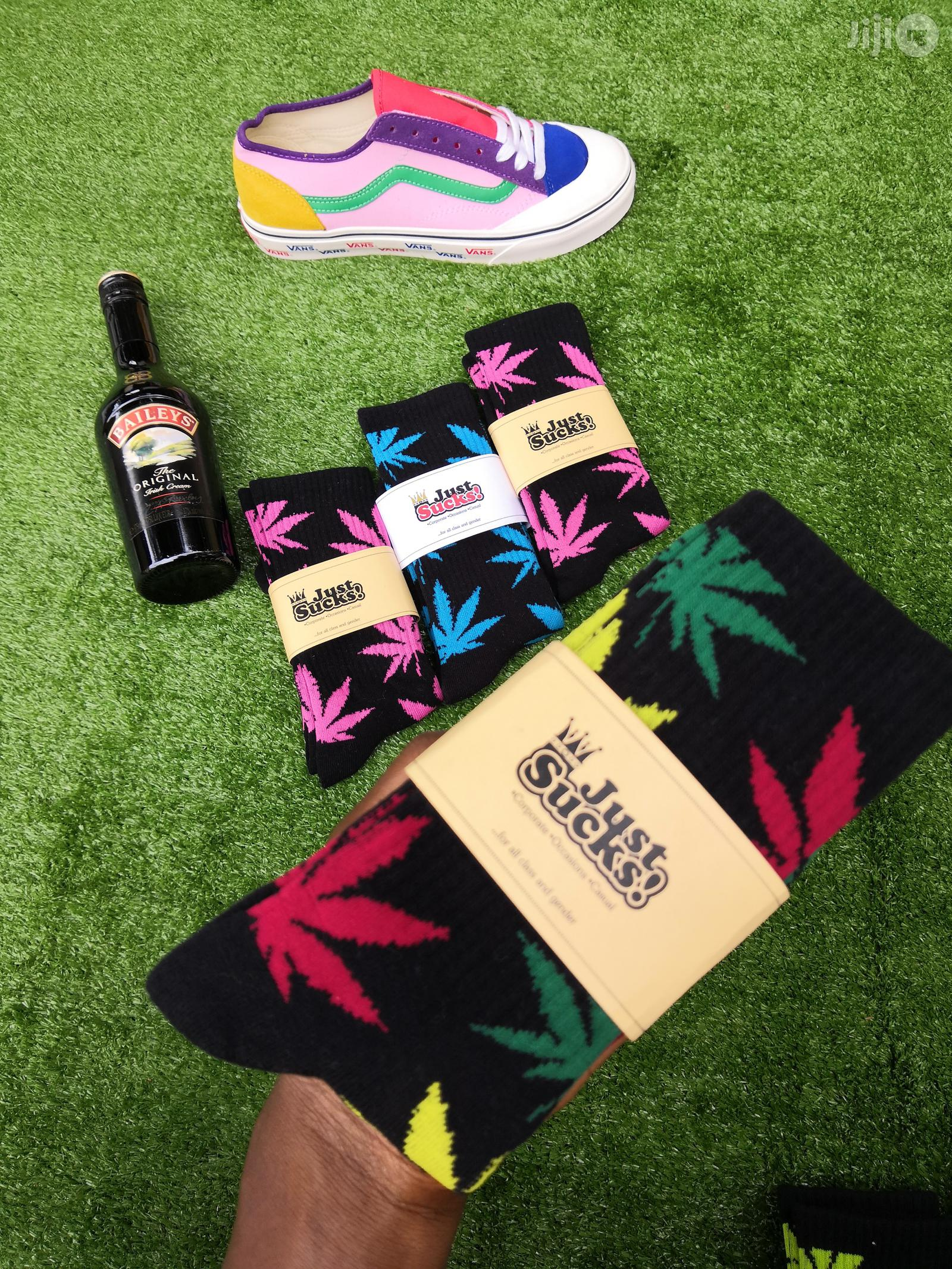 Huf Weed 420 Stoners Socks | Clothing Accessories for sale in Ikeja, Lagos State, Nigeria