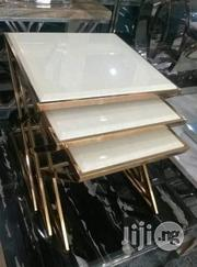 Golden Frame Side Stools   Home Accessories for sale in Lagos State, Victoria Island