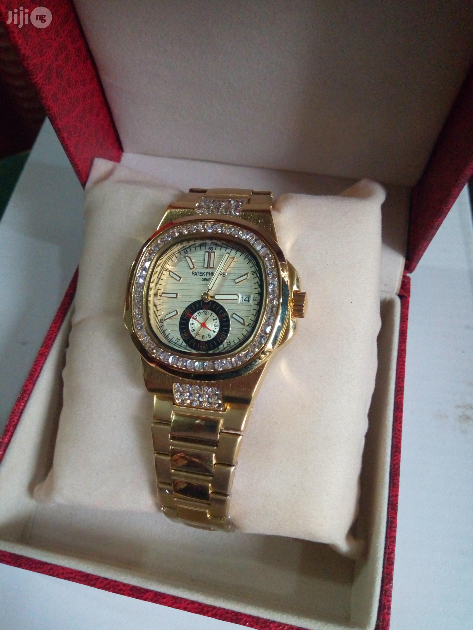 Men's Patek Philippe Wrist Watch | Watches for sale in Ikeja, Lagos State, Nigeria