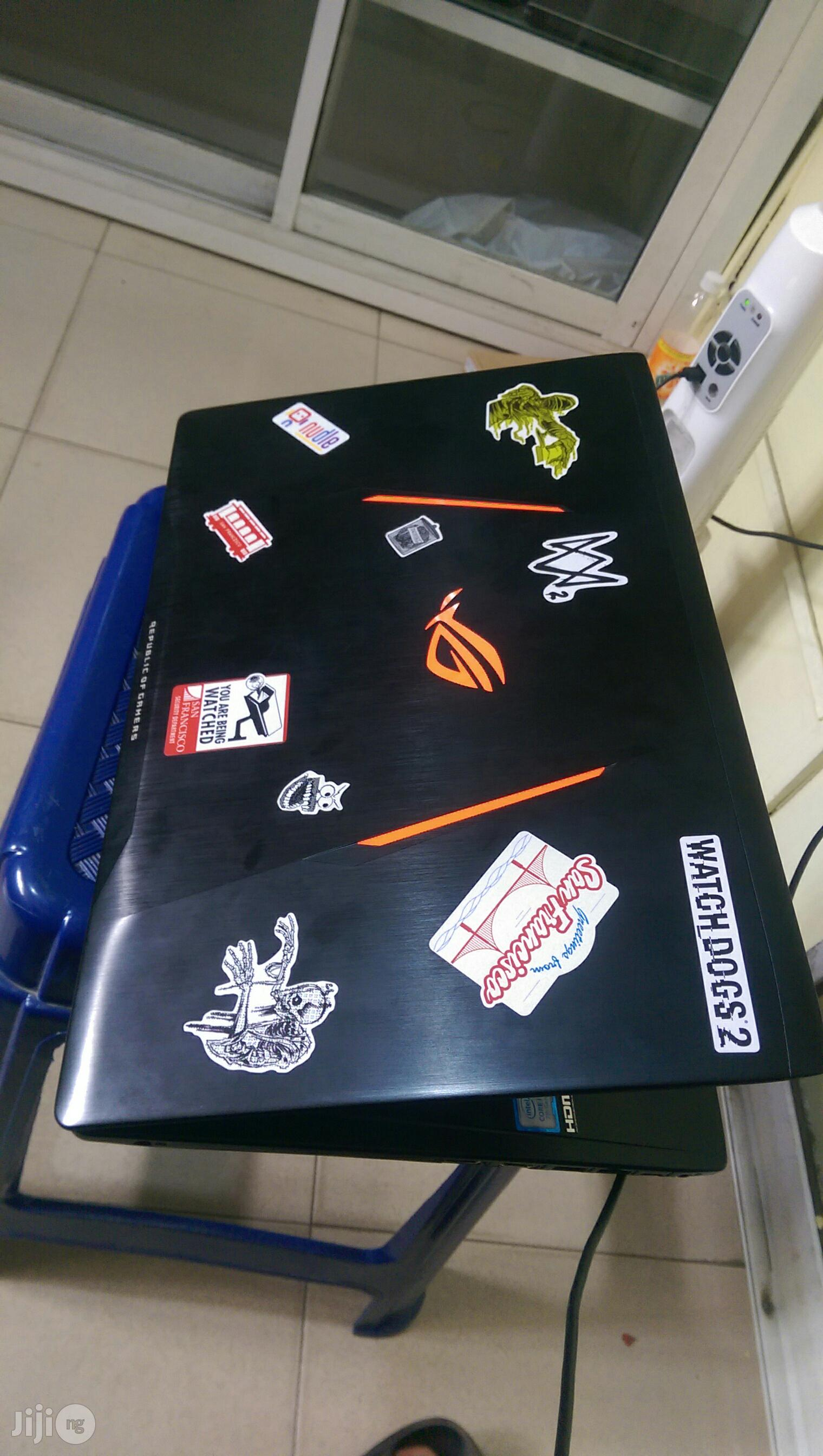 Laptop Asus ROG GL553VE 8GB Intel Core i7 HDD 1T   Laptops & Computers for sale in Ikeja, Lagos State, Nigeria