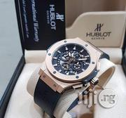 Original Hublot Rubber Watch With Chronograph and Date😍 | Watches for sale in Lagos State, Lagos Island