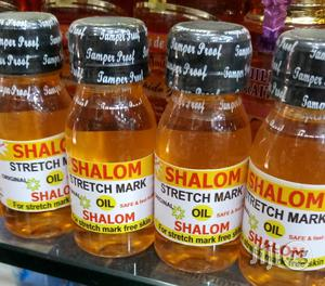 Shalom Strech Mark Oil