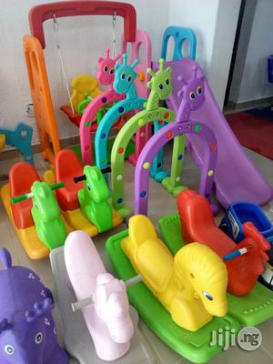 Playground Slid And Plastic Horse   Toys for sale in Lagos State, Ikeja