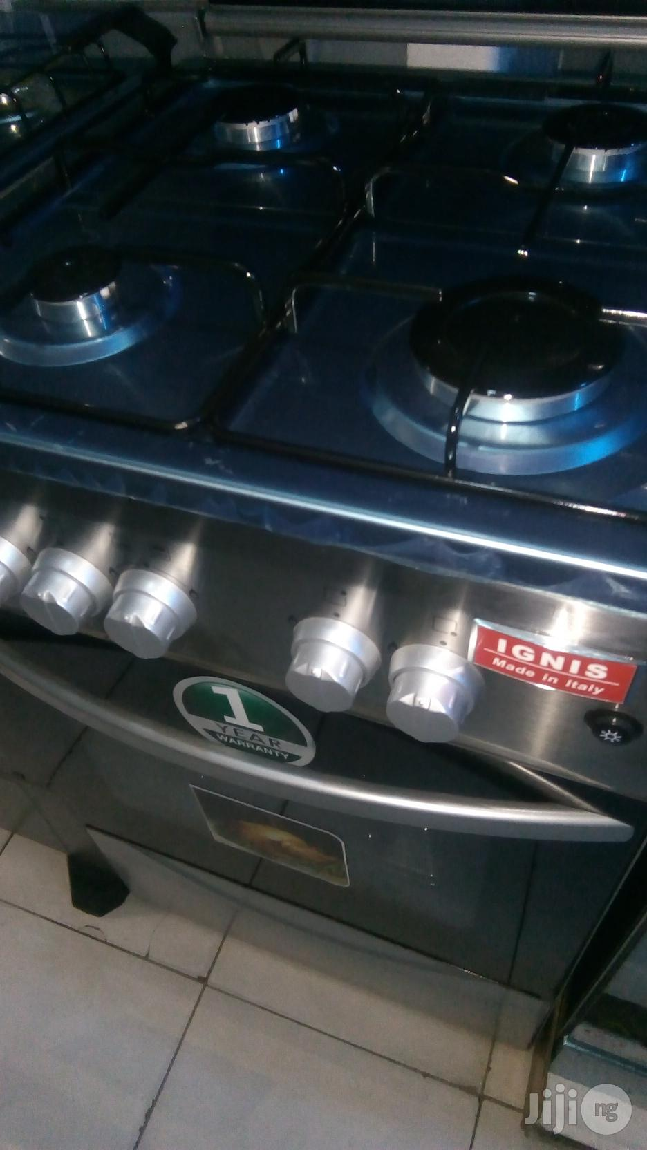 4 Burners Standing Cooker With Oven