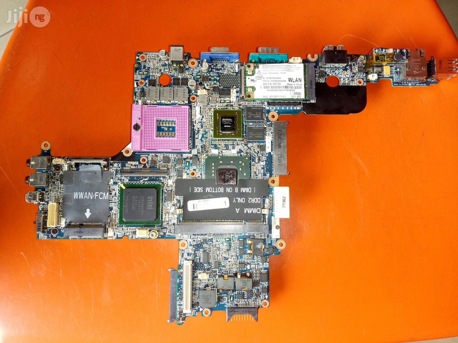 Dell Latitude D620 And D630 Laptop Motherboard