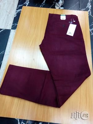 Lacoste Chinos Trousers   Clothing for sale in Lagos State, Surulere