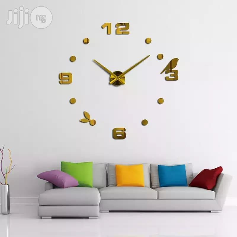 Archive: Fashion Diy Modern Large 3D Wall Art Sticker Clock 2018