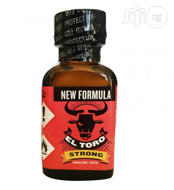 Poppers.:: El Toro Strong - 24 Ml.