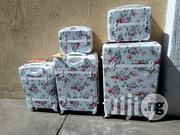White 5 Set Luggage Travel Trolley Bag | Bags for sale in Lagos State, Ikeja