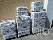 White 5 Set Trolley Luggage For An Affordable | Bags for sale in Lagos State, Ikeja