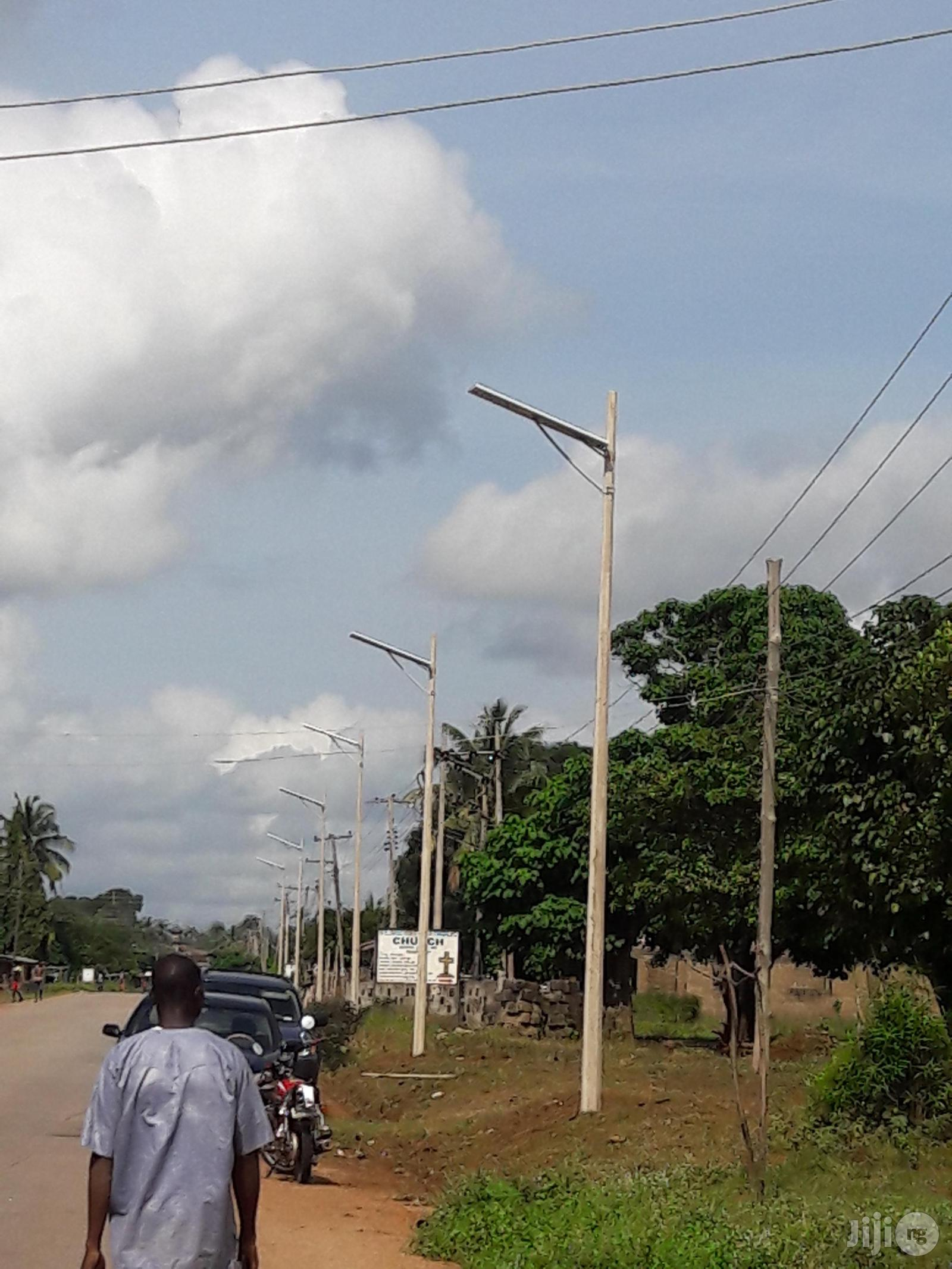 Concrete Street Light Poles | Garden for sale in Central Business Dis, Abuja (FCT) State, Nigeria