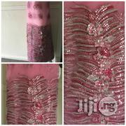 French Net 3D Sequin Lace Fabric | Clothing for sale in Lagos State, Lekki Phase 1