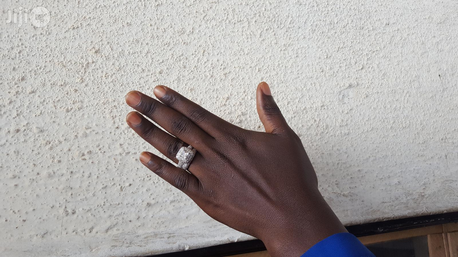 Bridal Ring Set 14KT White Goldfilled on Sales!