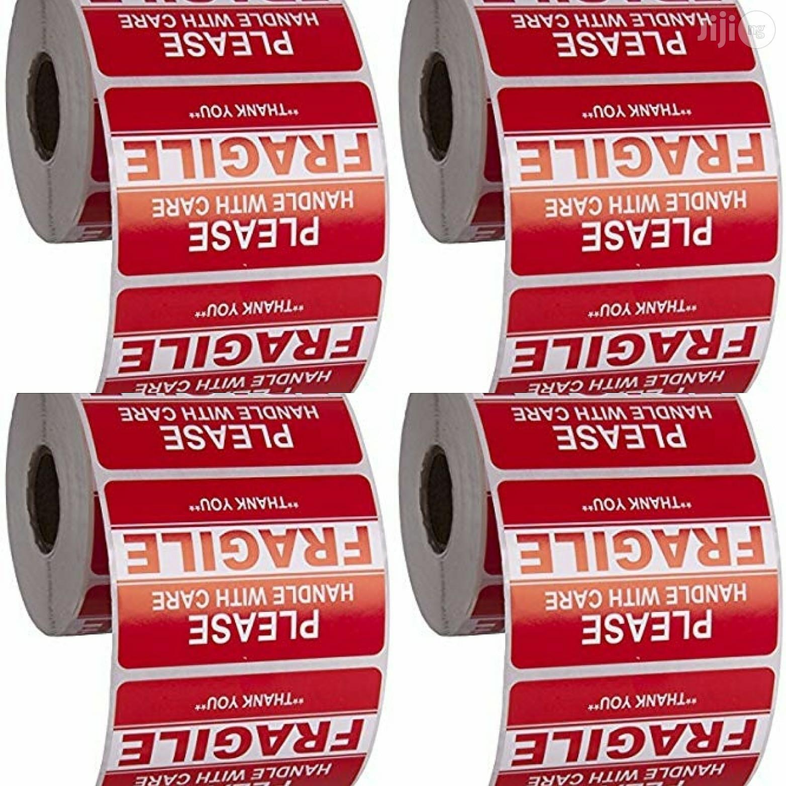 "USA Saurus 500 Labels Per Roll, 3"" X 5"""