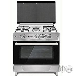 Maxi Gas Cooker 60*90(4 Gas Burner + 2 Electric Plate ) INOX | Restaurant & Catering Equipment for sale in Lagos State, Ojo