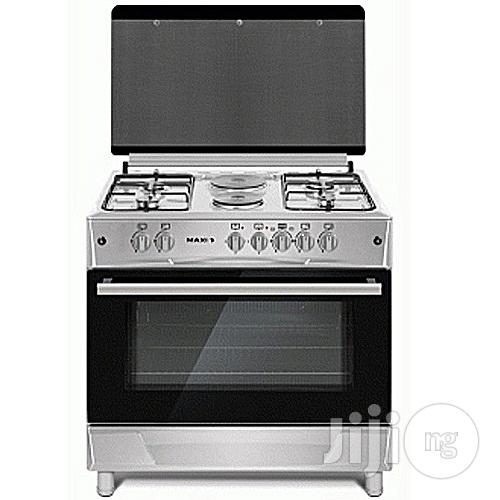 BRAND NEW Maxi Gas Cooker 60*90(4 Gas Burner + 2 Electric Plate ) INOX