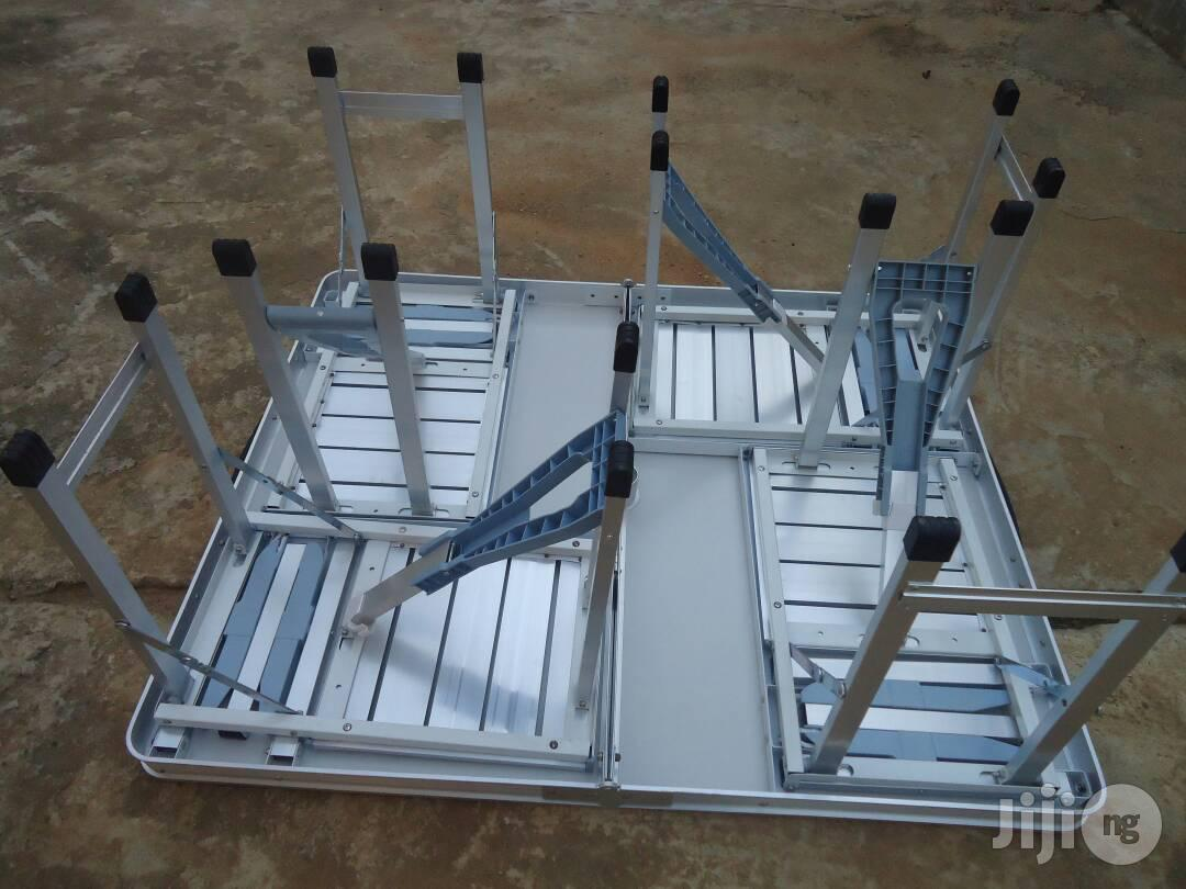 Convention/Picnic/Conference/Beach Table With 4 Chairs | Furniture for sale in Ikeja, Lagos State, Nigeria