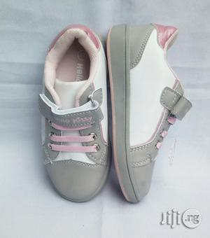 Ash and Pink Canvas for Girls | Children's Shoes for sale in Lagos State, Lagos Island (Eko)