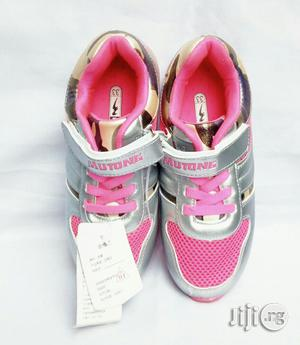 Pink and Ash Canvas | Children's Shoes for sale in Lagos State, Lagos Island (Eko)